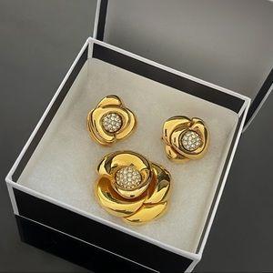 ✨Stunning Signed Trifari Vintage Jewelry Set